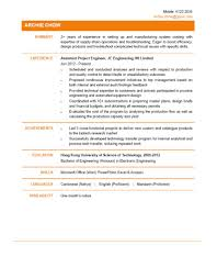 Ct Resume Project Engineer Resume Resume For Your Job Application