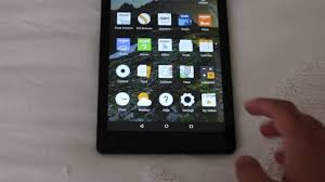 amazon fire hd 8 2016 initial setup youtube