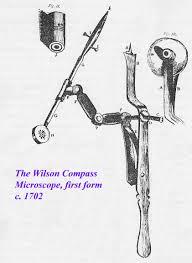 english leiberkuhn compass microscope with lieberkuhn