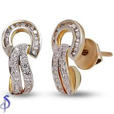 daily wear diamond earrings diamond earring manufacturer from surat