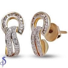 daily wear diamond earrings diamond earring manufacturer from surat