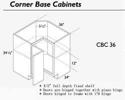 36 Sink Base Cabinet Corner Sink Base Cabinet Oak Corner Sink Base Or Front Corner