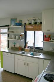 Affordable Kitchen Storage Ideas Diy Floating Kitchen Shelves Easy Storage Ideas Shelf Solutions