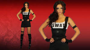 Mens Swat Halloween Costume Sultry Swat Officer Costume