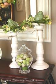 Living Room Decor For Easter Chic On A Shoestring Decorating Easter Eye Candy No Calories