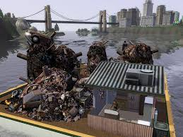 Trash House Image Island Paradise Trash Barge Jpg The Sims Wiki Fandom