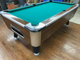 used valley pool table table 060717 valley used coin operated pool table used coin