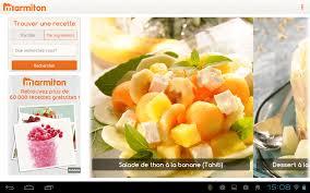 application cuisine android application recette cuisine android un site culinaire populaire