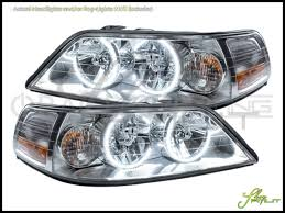 Lincoln Town Car Pictures Oracle 05 11 Lincoln Town Car Led Halo Rings Headlights Bulbs