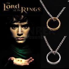 neck ring necklace images The lord of the rings ring and necklace jpg