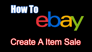 how to ebay put items on sale