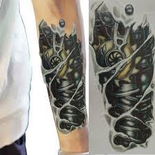 discount mechanical arm tattoo 2018 mechanical arm tattoo