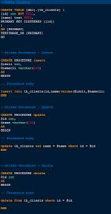 tutorial oracle stored procedure stored procedure in scriptcase insert update and delete