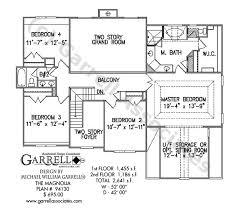master on house plans magnolia house plan house plans by garrell associates inc