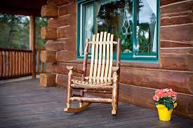 Patio Rocking Chairs Wood by Sofa Rustic Wooden Rocking Chairs Wood For Sale Topglory