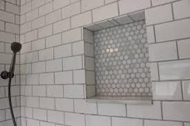 bathroom white subway tile bathroom shower style home design