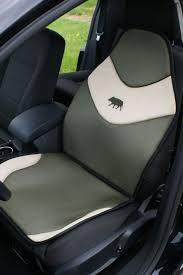 couvre si e auto housse de siège de voiture universel kaki avec logo sanglier