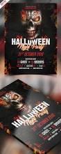 halloween party invitation flyer psd template psdfreebies com