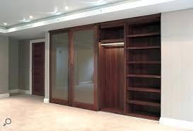 Wood Sliding Closet Doors Wood Sliding Closet Door Installing Bypass Closet Doors Alluring