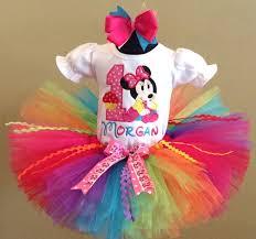 1st birthday tutu minnie mouse rainbow cupcake 1st birthday tutu