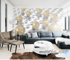 abstract art wall murals idecoroom 3d modern abstract sphere 5d wall paper mural art print decals office decor idcwp 3db
