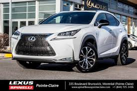 f series lexus used 2017 lexus nx 200t f sport series 2 for sale in montreal