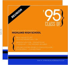 high school class reunion invitations high school college class reunion invitations