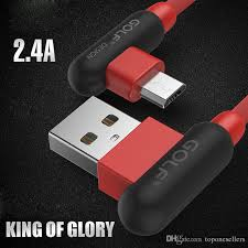 l with usb charger micro usb cable 3ft 1m rapid charging cables l shape 10 000