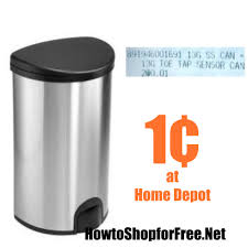 black friday 2016 home depot insert run 1 trash can at home depot how to shop for free with