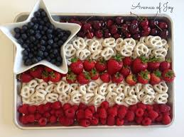 Flag Ideas Memorial Day Block Party Fruit Flag And More Fun Food Ideas
