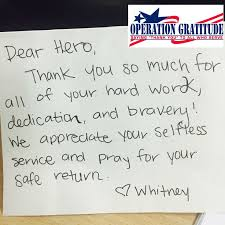 best 25 operation gratitude ideas on letters to