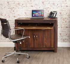 buy baumhaus mayan walnut hidden computer desk online cfs uk