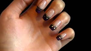 bio sculpture gel nail art design youtube