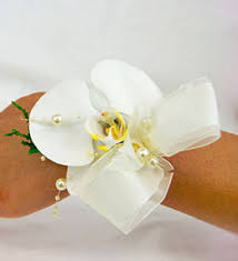 White Orchid Corsage Prom Corsages Flower Corsage Wedding Flowers
