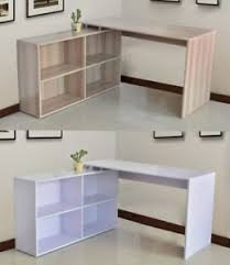 bureau de travail maison foxhunter en forme de l coin ordinateur bureau pièce table maison