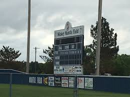 discovering the sports roots of route 66 mickey mantle s home as route 66 bends past the l m convenience store commerce high school comes up as does the statue of mickey mantle right behind the center field wall of