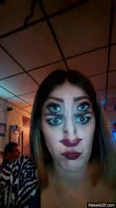 Trinity Halloween Costume Double Face Makeup Album Imgur