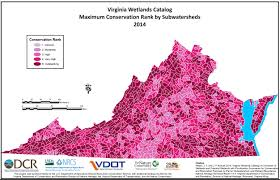Virginia State Parks Map Virginia Wetlands Catalog