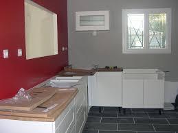 mur en cuisine cuisine mur meuble blanc kirafes