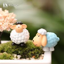 Sheep Home Decor Mini Sheep Home Decor Garden Miniature