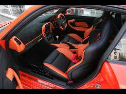 Nissan 350z Interior - 2006 gemballa gtr 650 evo orange based on porsche 997 interior