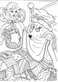 fairy tale color fantasy medieval coloring pages kids