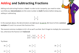 fractions solve my maths