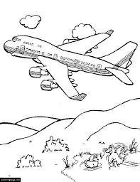 airplane coloring page printable airplane coloring pages ecoloringpage com printable coloring