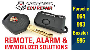 porsche remotes immobilizer and alarm repair replacements and