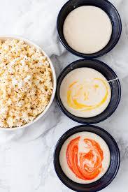 candy corn popcorn oh so delicioso