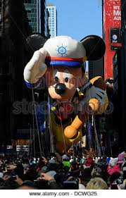 macy s thanksgiving day parade mickey mouse stock photo royalty