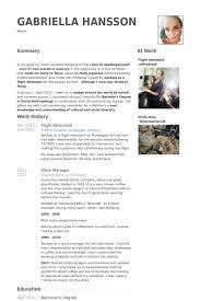 resume format for boeing flight attendant resume samples visualcv resume samples database