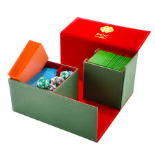 dex protection creation line large deckbox green accessories