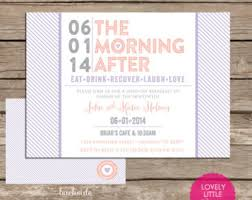 morning after wedding brunch invitations rise and dine post wedding breakfast brunch invitation